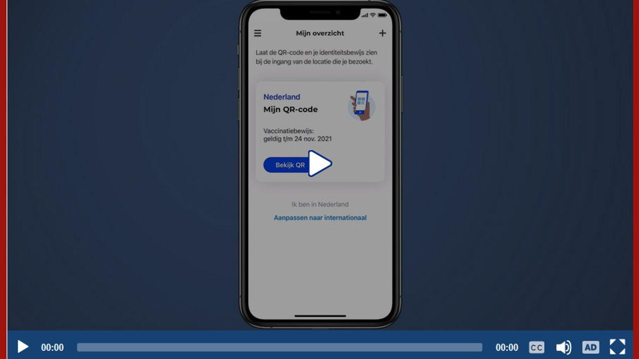 Hulp bij het installeren van de CoronaCheck-app