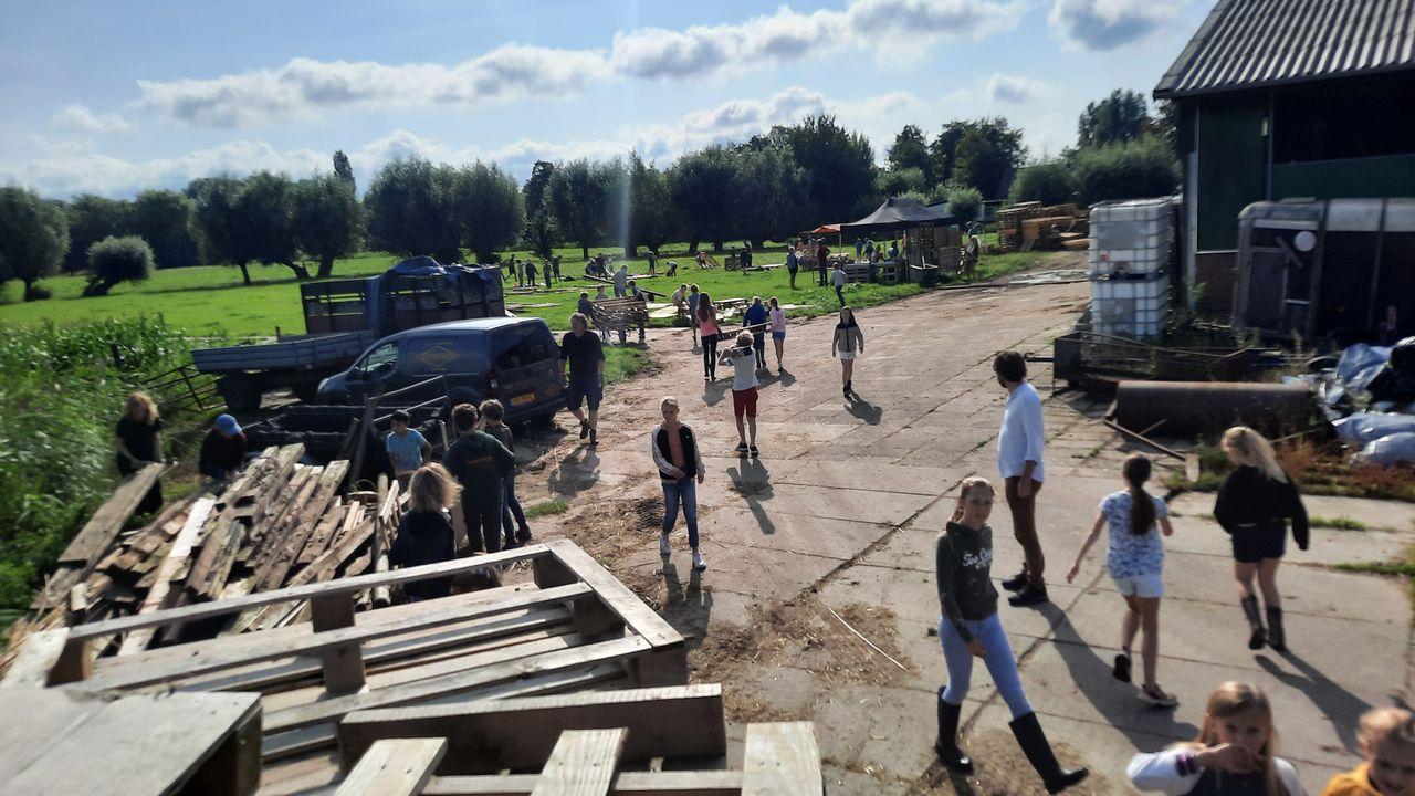 Vreelandse huttenbouwweek weer geslaagd