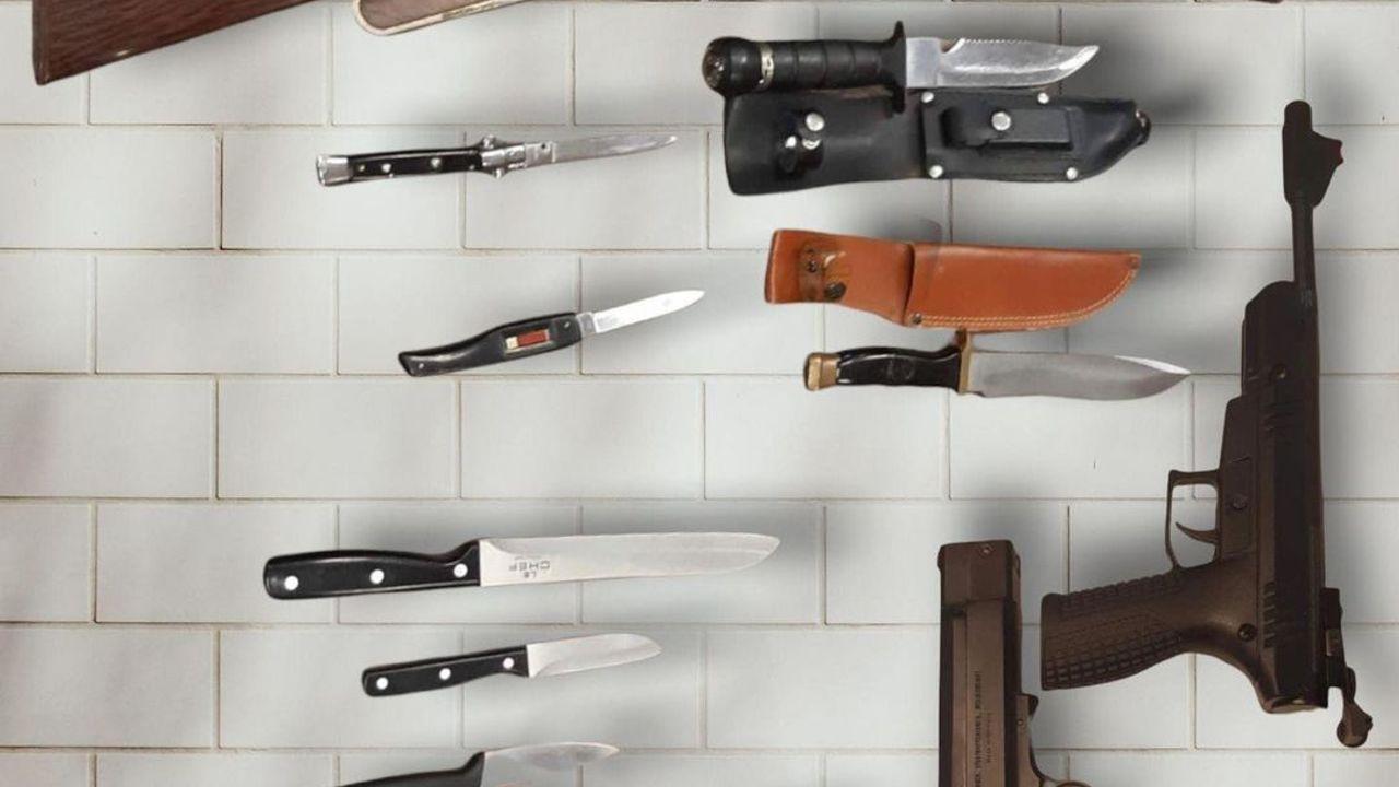 Tiental wapens ingeleverd in Week van de Veiligheid